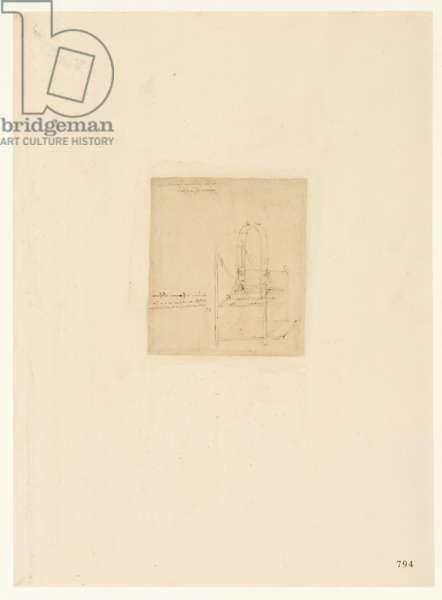 Codex Atlanticus, sheet 794 recto