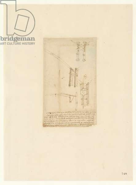 Codex Atlanticus, sheet 749 recto
