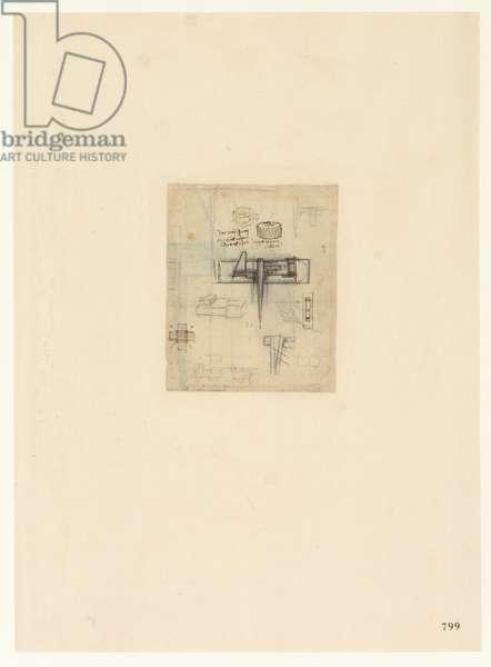 Codex Atlanticus, sheet 799 recto