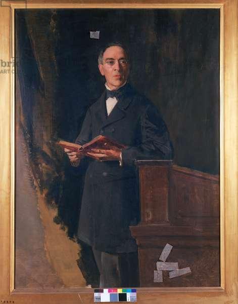 Portrait of Pietro Pietrasanta, 1876 (oil on canvas)