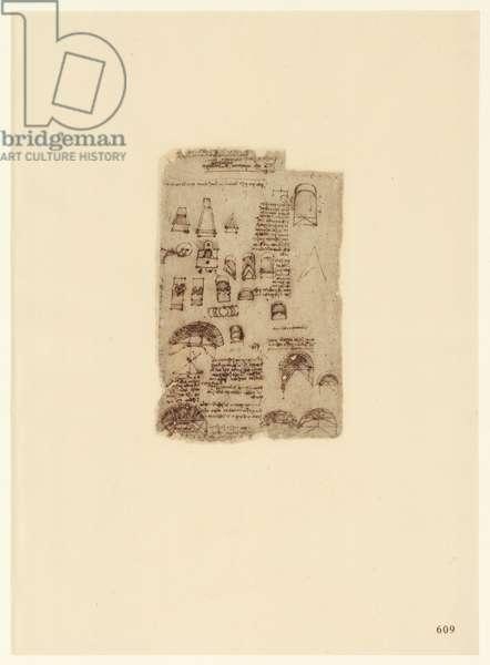 Codex Atlanticus, sheet 609 recto