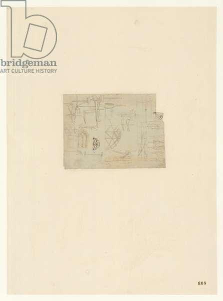 Codex Atlanticus, sheet 809 recto