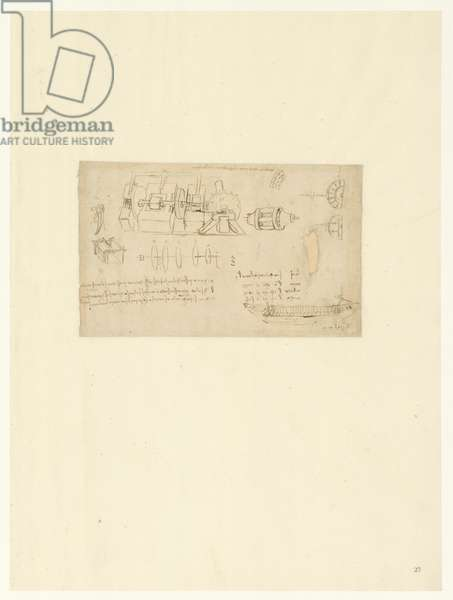 Codex Atlanticus, sheet 27 recto