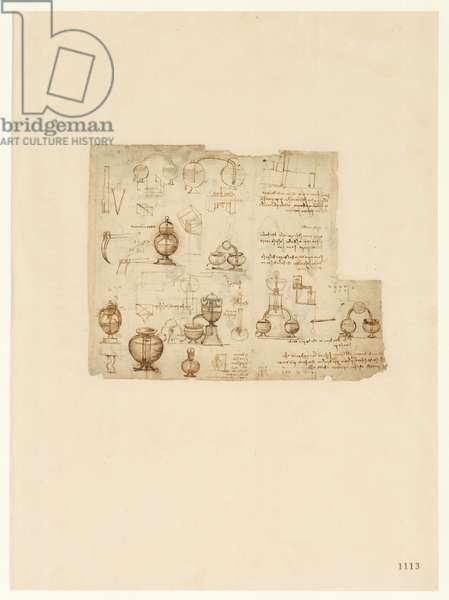 Codex Atlanticus, sheet 1113 recto
