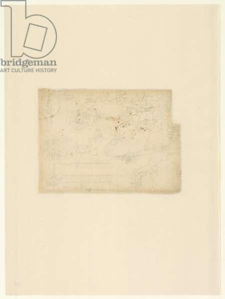 Codex Atlanticus, sheet 168 verso