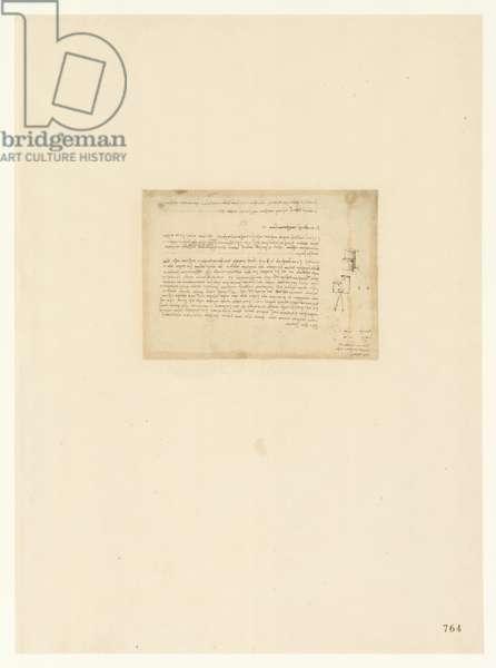 Codex Atlanticus, sheet 764 recto