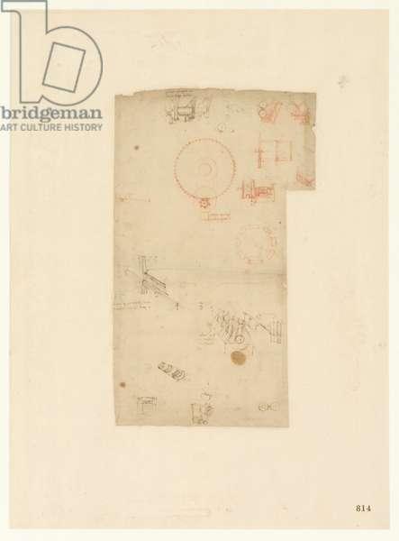 Codex Atlanticus, sheet 814 recto