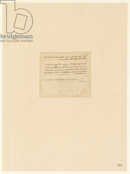 Codex Atlanticus, sheet 324 recto