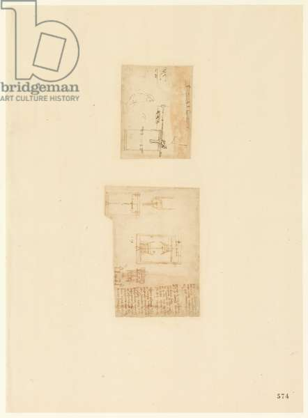 Codex Atlanticus, sheet 574 recto