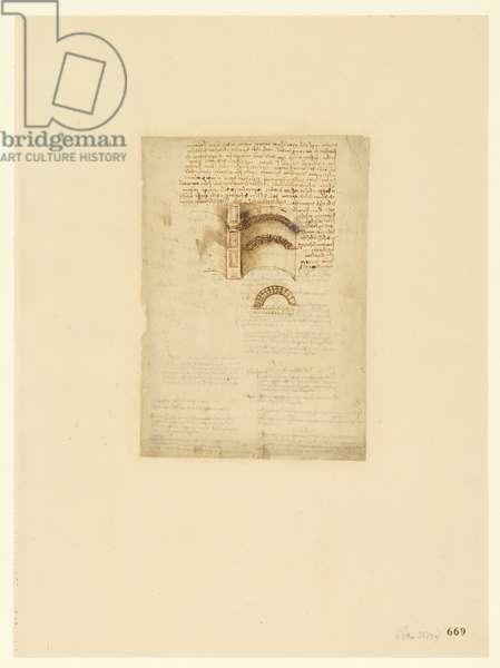 Codex Atlanticus, sheet 669 recto