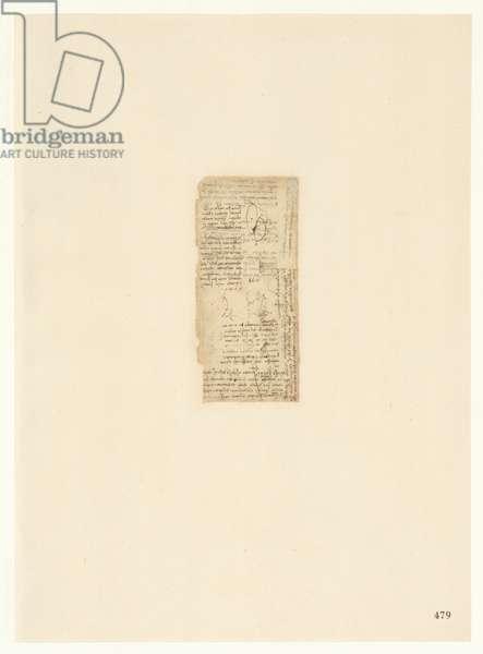 Codex Atlanticus, sheet 479 recto