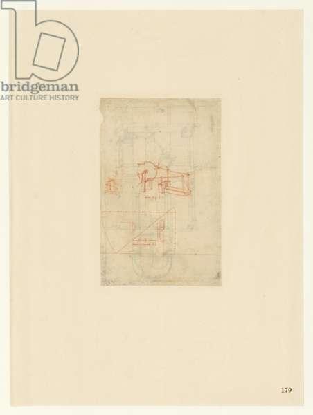 Codex Atlanticus, sheet 179 recto