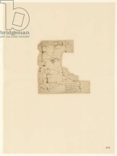 Codex Atlanticus, sheet 279 recto