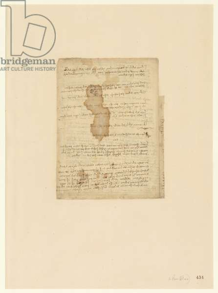 Codex Atlanticus, sheet 434 recto