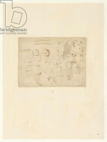 Codex Atlanticus, sheet 84 recto