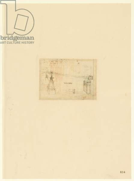 Codex Atlanticus, sheet 834 recto