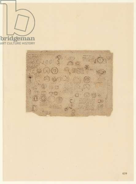 Codex Atlanticus, sheet 439 recto