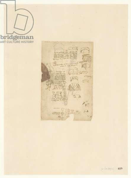 Codex Atlanticus, sheet 489 recto