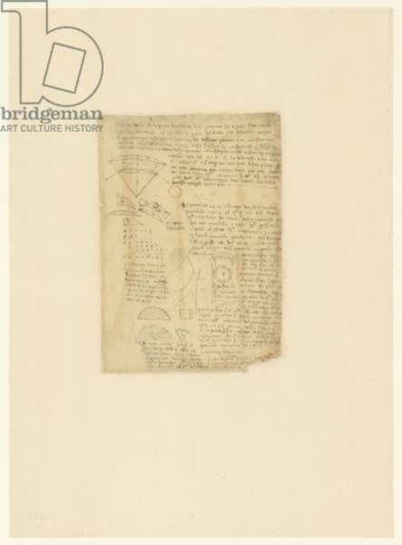Codex Atlanticus, sheet 584 verso
