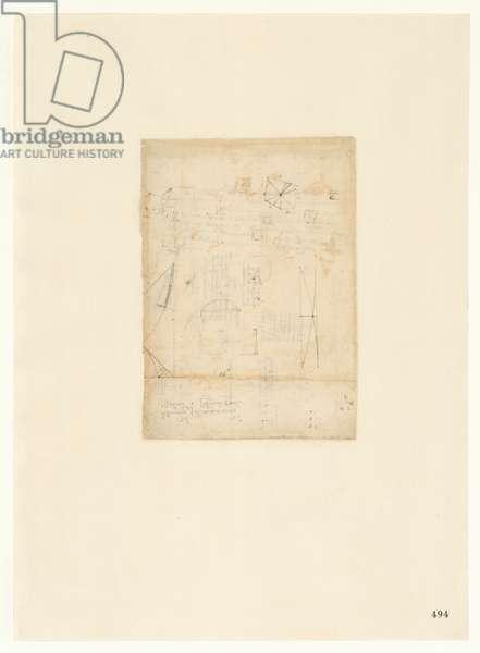 Codex Atlanticus, sheet 494 recto