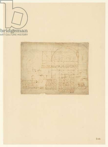 Codex Atlanticus, sheet 544 recto