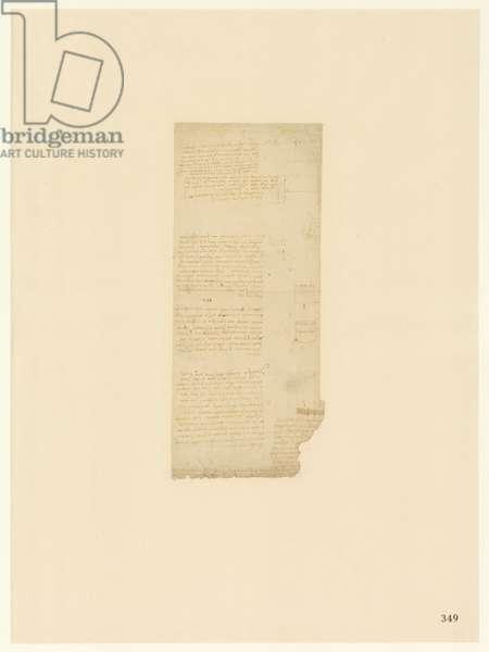 Codex Atlanticus, sheet 349 recto