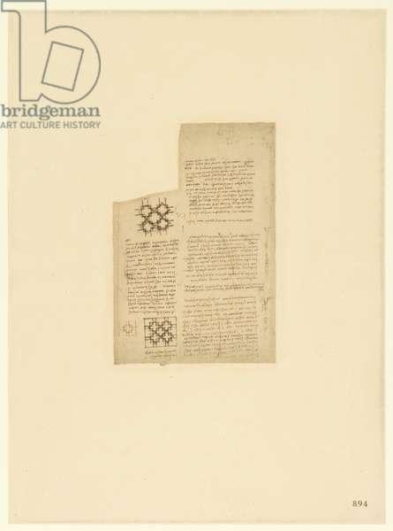 Codex Atlanticus, sheet 894 recto