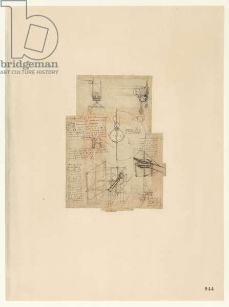 Codex Atlanticus, sheet 944 recto