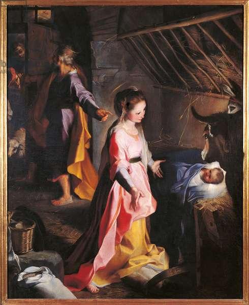 Nativity, c.1598 (oil on canvas)