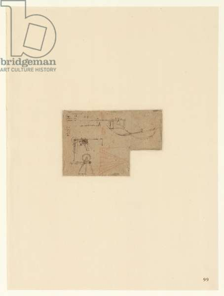 Codex Atlanticus, sheet 99 recto