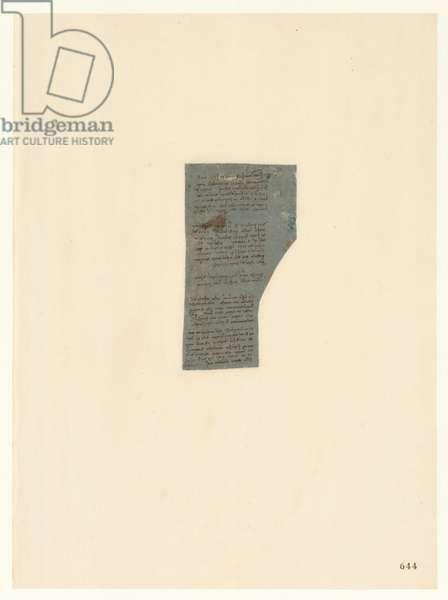 Codex Atlanticus, sheet 644 recto