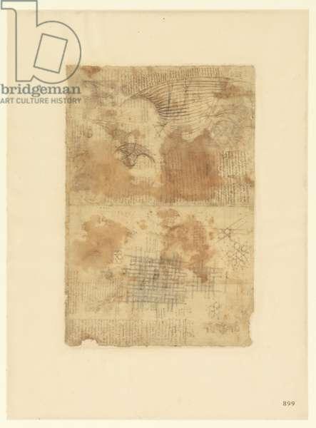 Codex Atlanticus, sheet 899 recto