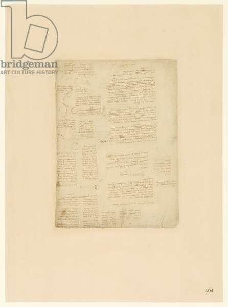 Codex Atlanticus, sheet 404 recto
