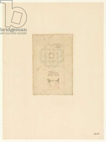 Codex Atlanticus, sheet 1049 recto
