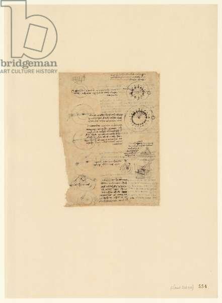Codex Atlanticus, sheet 554 recto
