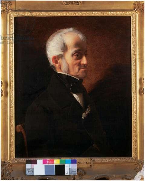 Portrait of the Lieutenant Marshal Camillo Vacari (oil on canvas)