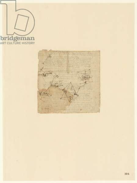 Codex Atlanticus, sheet 304 recto