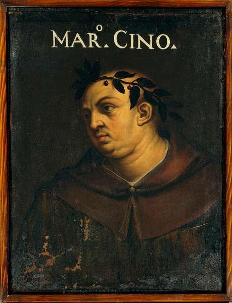 Portrait of Marco Cino of Pistoia
