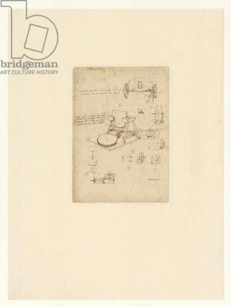 Codex Atlanticus, sheet 17 verso