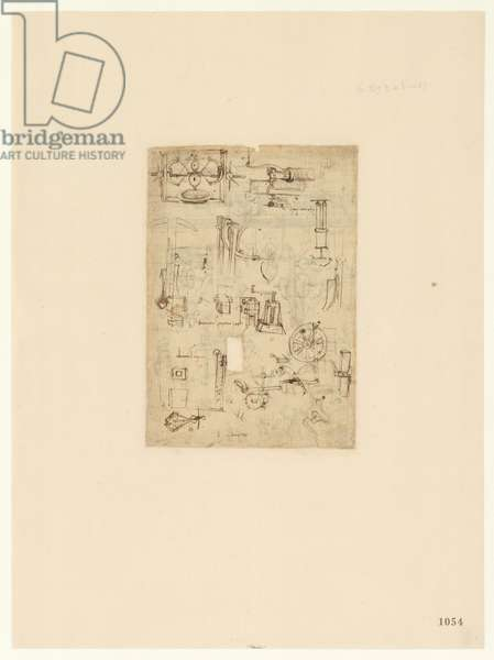 Codex Atlanticus, sheet 1054 recto