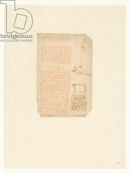 Codex Atlanticus, sheet 66 recto