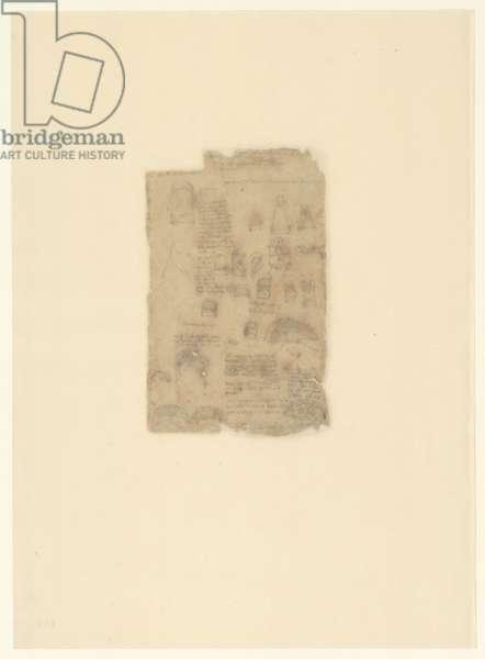 Codex Atlanticus, sheet 609 verso
