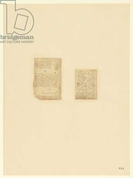 Codex Atlanticus, sheet 914 recto