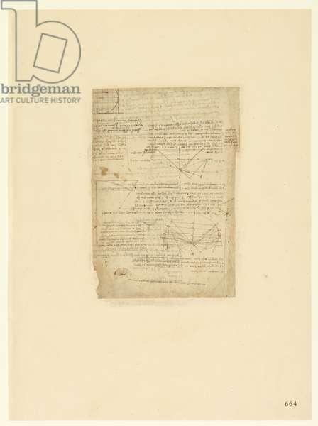 Codex Atlanticus, sheet 664 recto