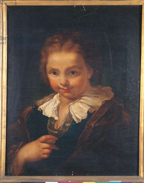Portrait of a Young Boy, 1736 (oil on canvas)
