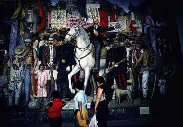 Retable of the Mexican Revolution, 1969 (mural)