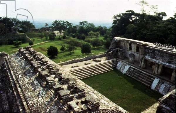 View of the palace, Maya (photo)