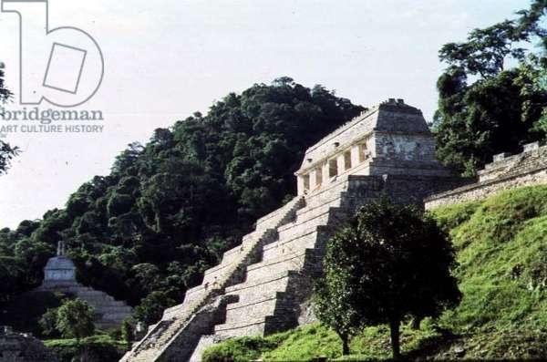 Temple of the Inscriptions, Maya (photo)