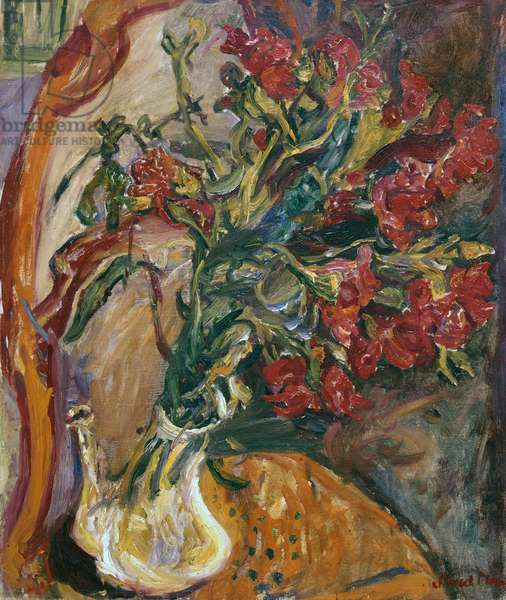 Red Carnations, c.1919 (oil on canvas)