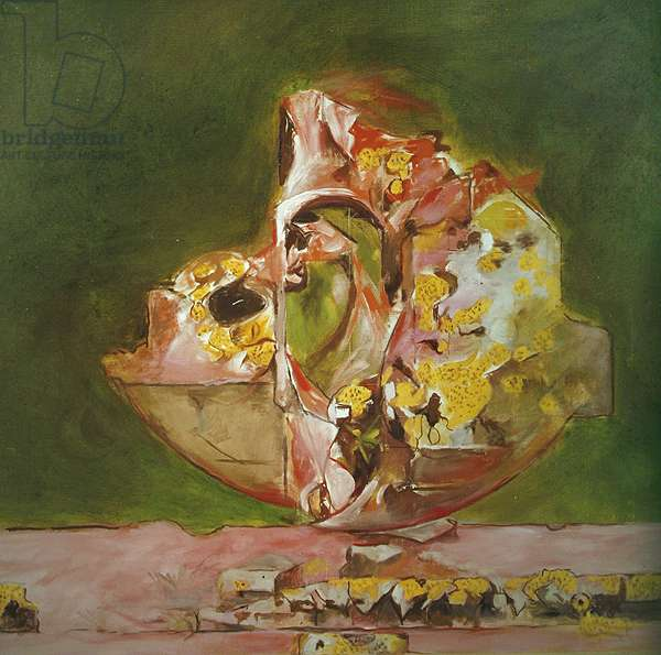 Poised Rock, 1972 (oil on canvas)
